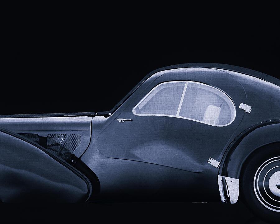 Bugatti Phoenix 57-SC Atlantic 1938 by Jan Keteleer