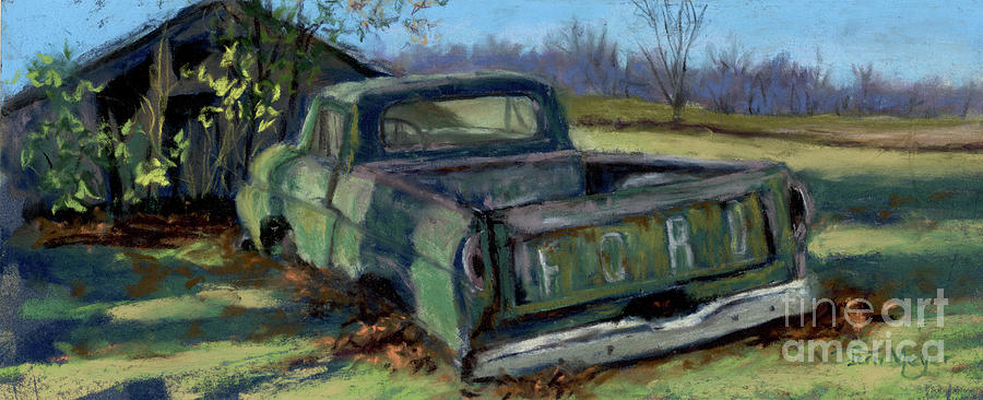 Built Ford Tough F-100 Painting