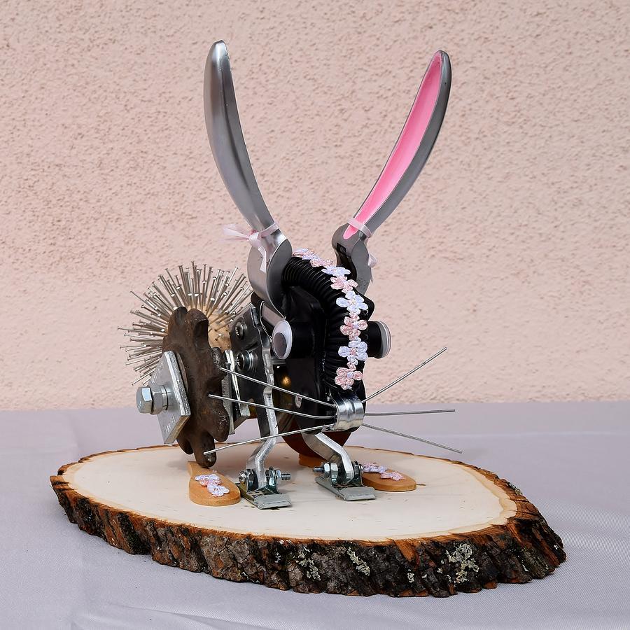 Bunny Mixed Media - Bunny by Charla Van Vlack