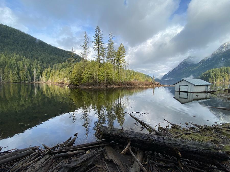 Buntzen Lake Reflections Photograph