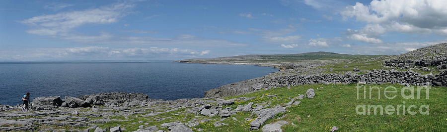 Burren panoramic by Peter Skelton