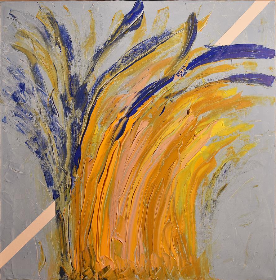 Colorado Painting - Bursting by Pam Roth OMara