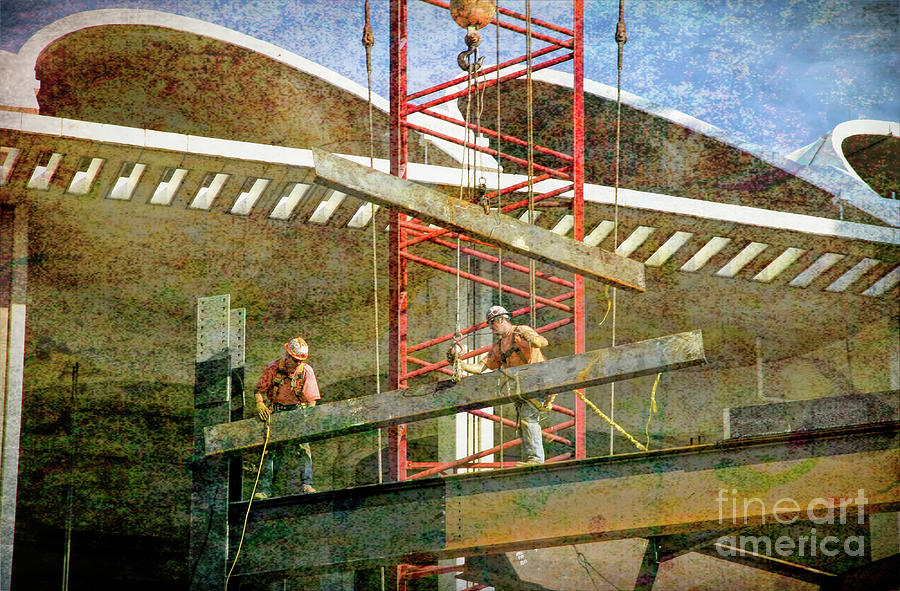 St Louis Digital Art - Busch Stadium - The Grit by Chris Mautz