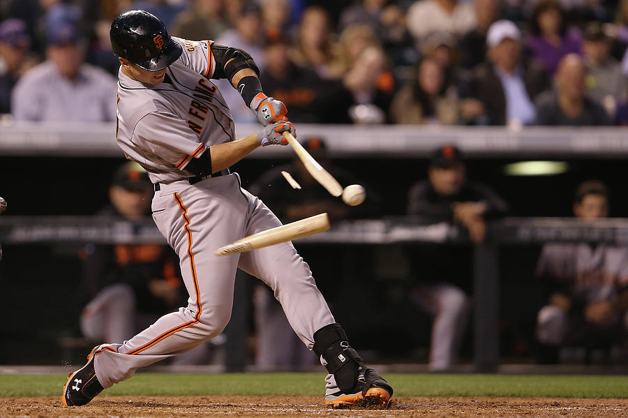 Buster Posey Photograph by Doug Pensinger