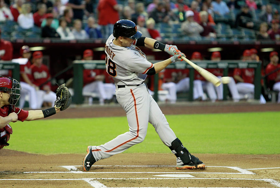 Buster Posey Photograph by Ralph Freso