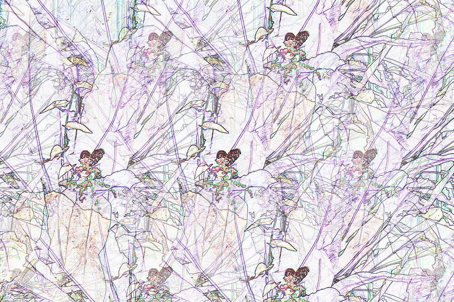 Butterflies in my Garden by Wilma Barnwell
