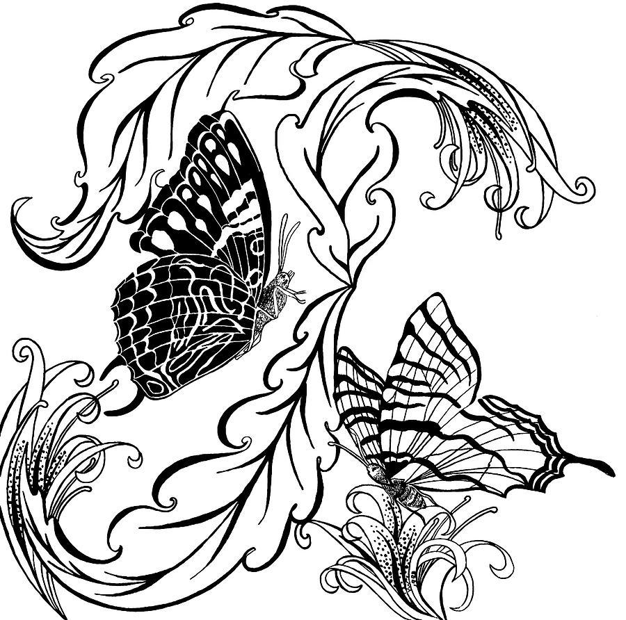 Butterflies Drawing