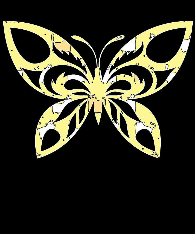 Butterflies Digital Art - Butterfly 150 by Kaylin Watchorn