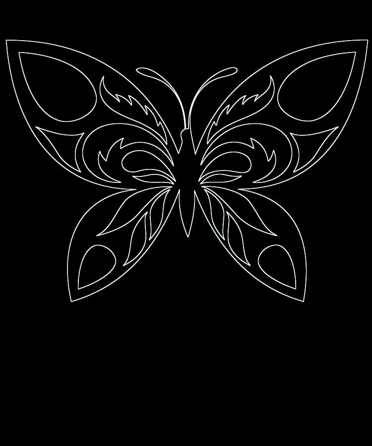 Butterflies Digital Art - Butterfly 74 by Kaylin Watchorn