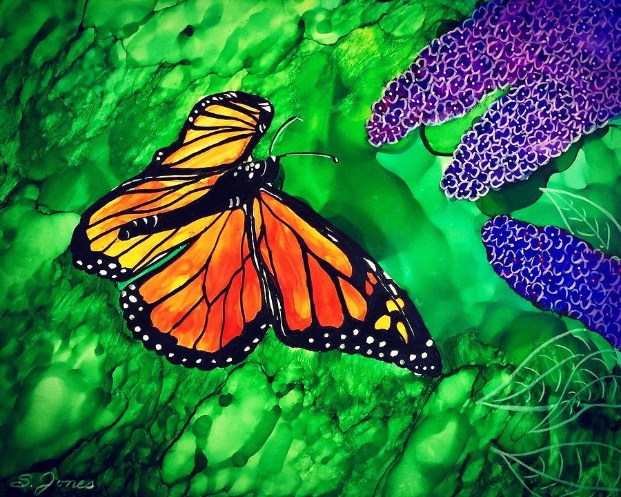 Butterfly Bush by Sonja Jones