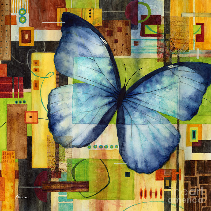 Butterfly Effect-square Format Painting
