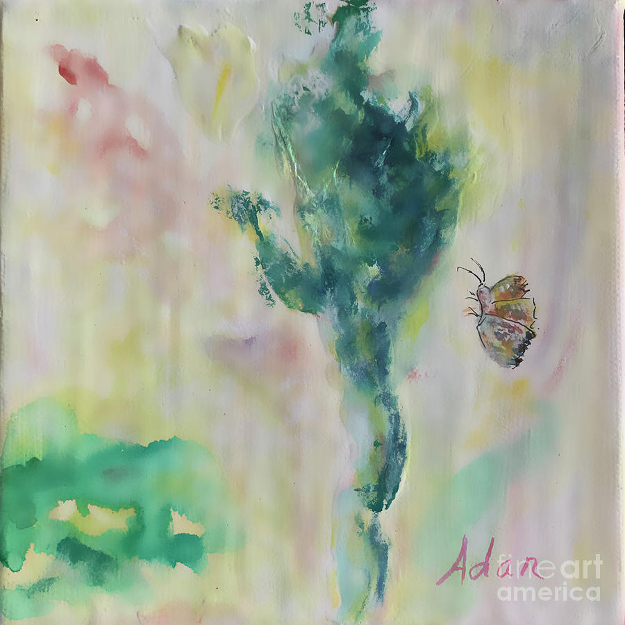 Abstract Digital Art - Butterfly Heaven Blur by Felipe Adan Lerma