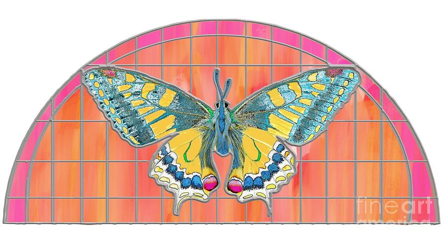 Butterfly Transom Digital Art