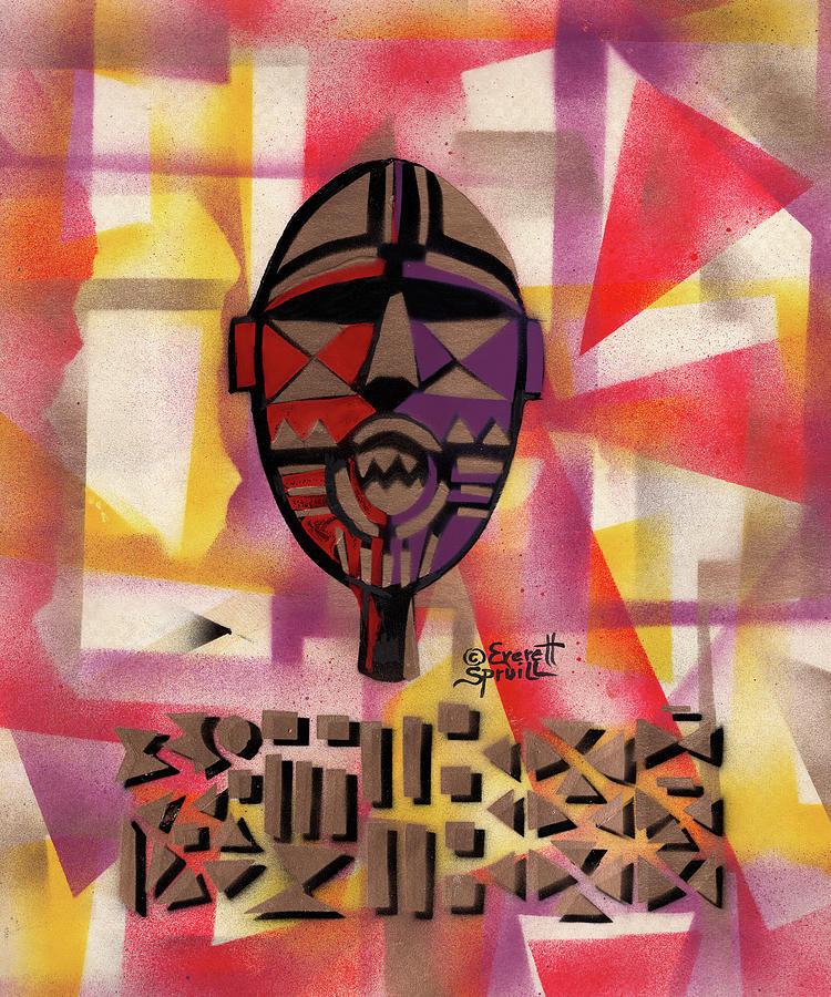 Bwa Mask of Burkina Faso by Everett Spruill