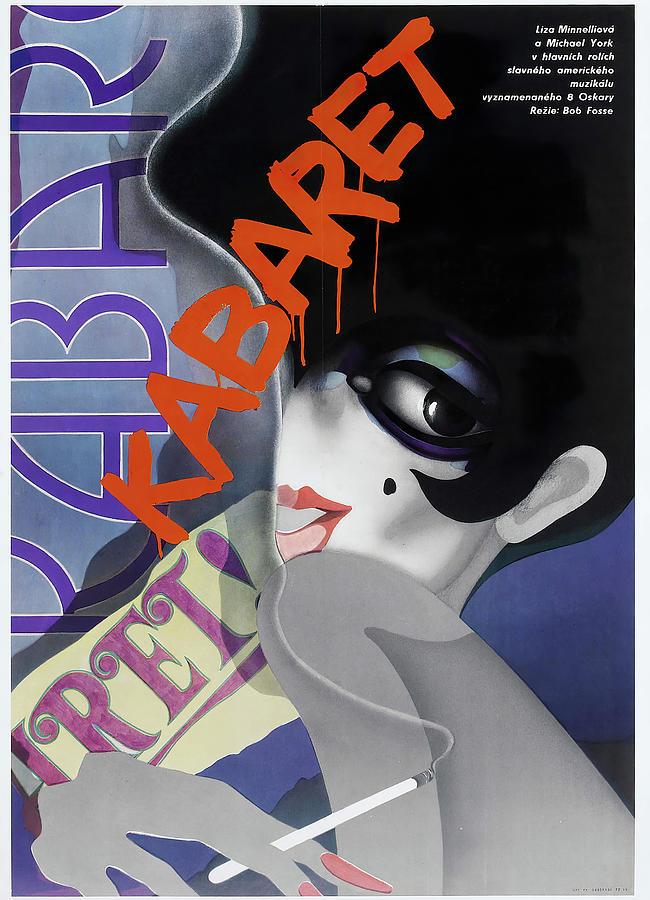 cabaret, With Liza Minnelli And Joel Grey, 1972 Mixed Media
