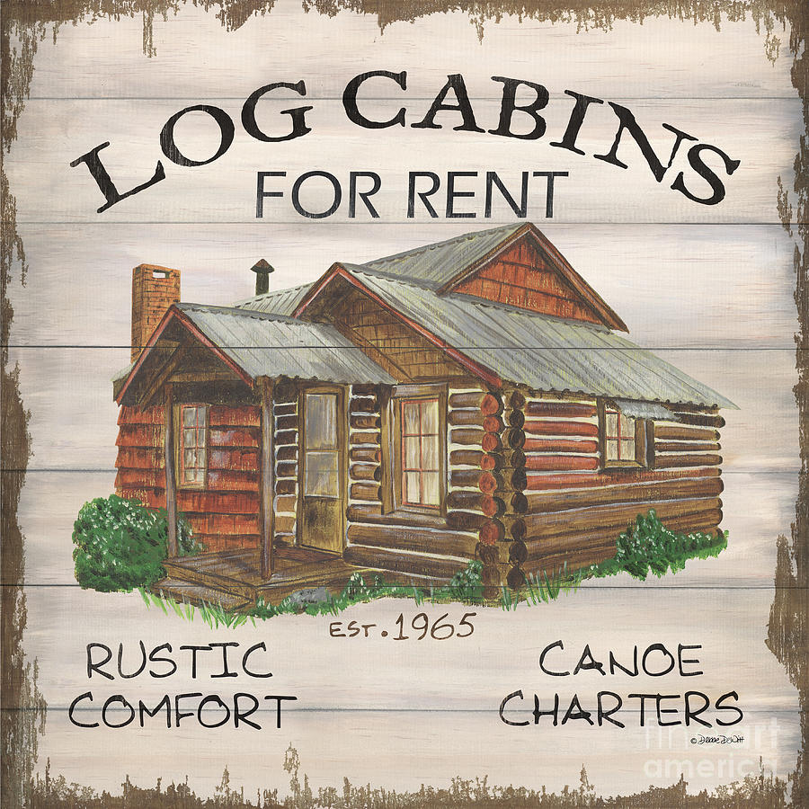 Cabin Rentals 1 Painting