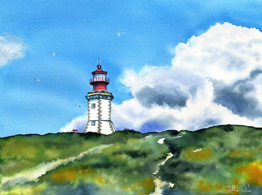 Cabo Espichel Lighthouse in Sesimbra Portugal by Dora Hathazi Mendes