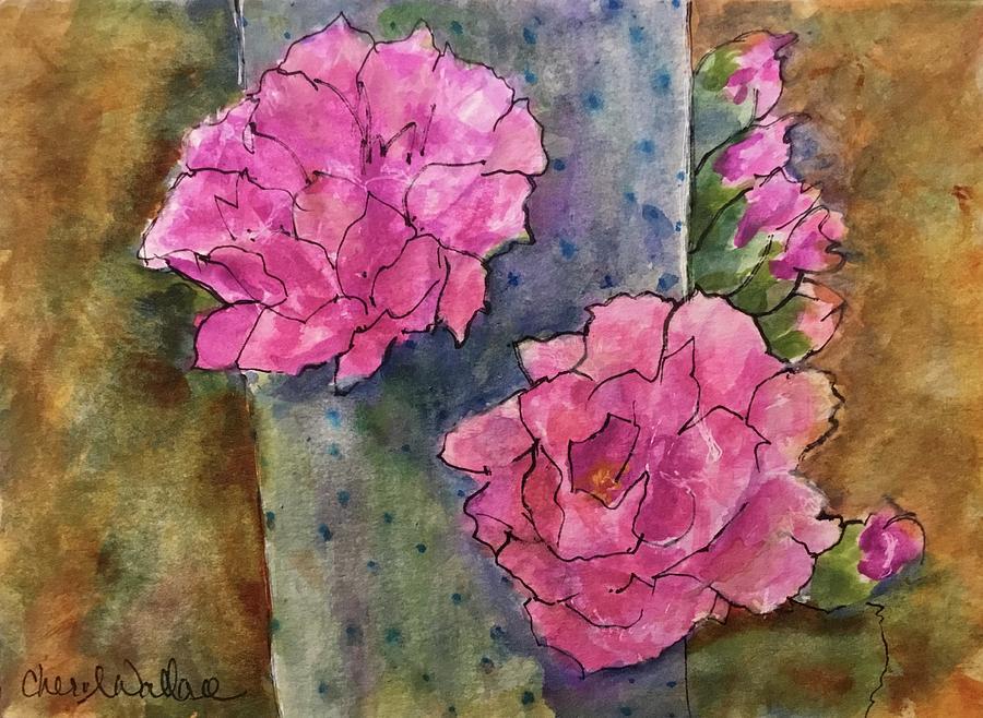 Cactus Spring Painting