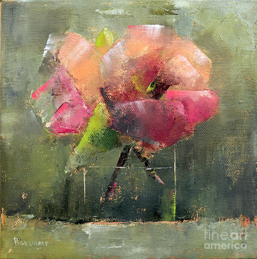 Flower Painting - Cadence #26 by Paint Box Studio