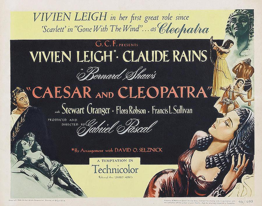 caesar And Cleopatra - 1945 Mixed Media