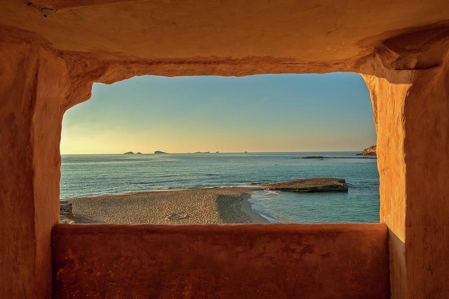 Cala Comte Beach On The Island Of Ibiza, Balearic Islands Photograph