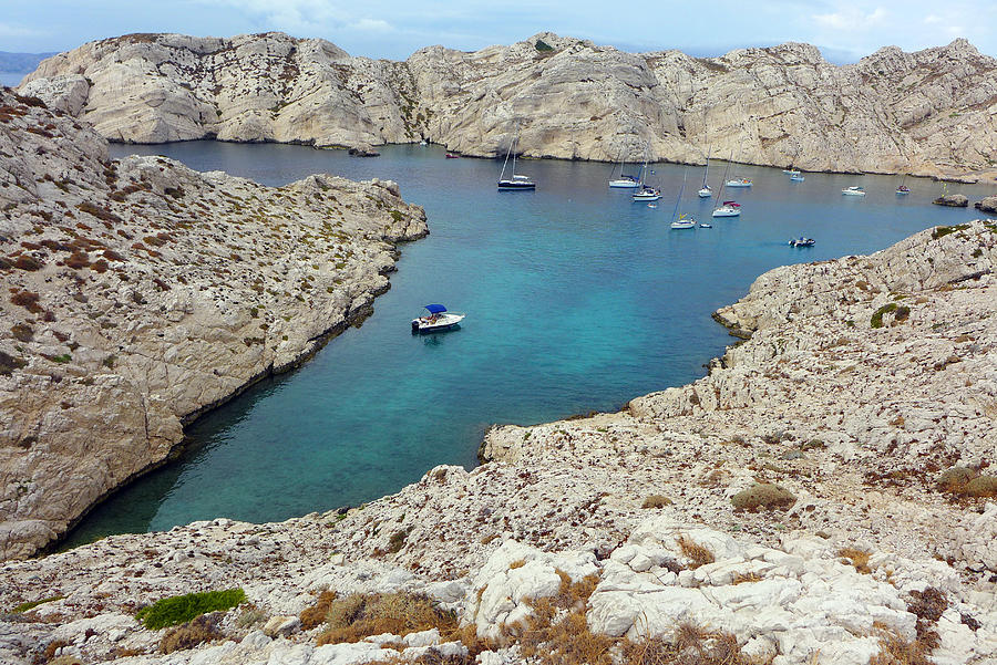 Calanque, Frioul Archipelago, Marseille, France Photograph by Patrick Donovan