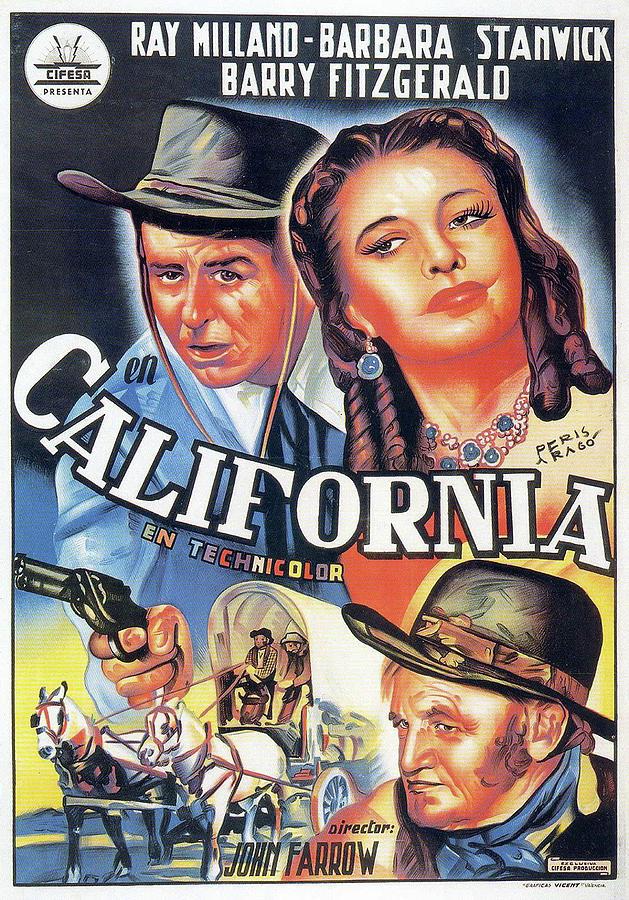 california - 1946 Mixed Media