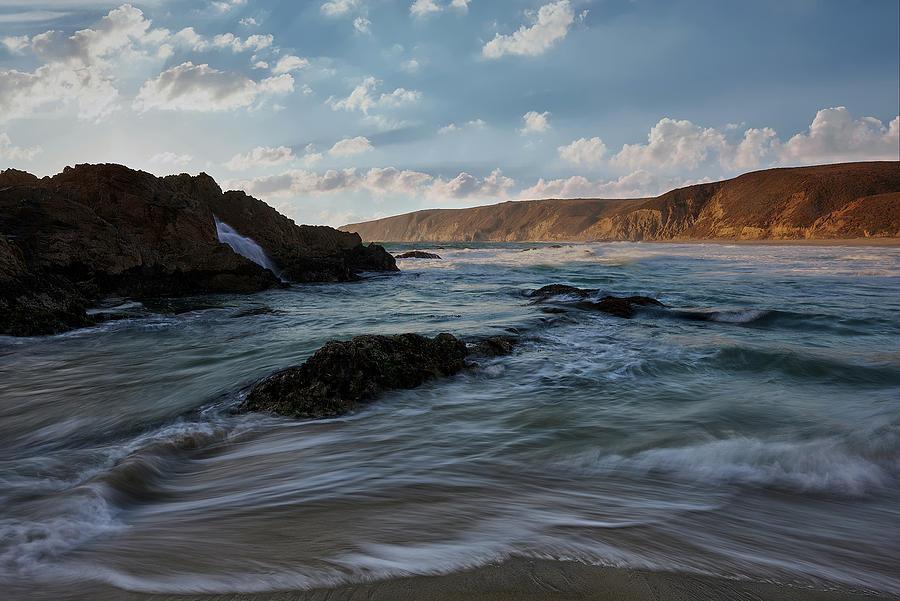 California Coastal Beach Photograph