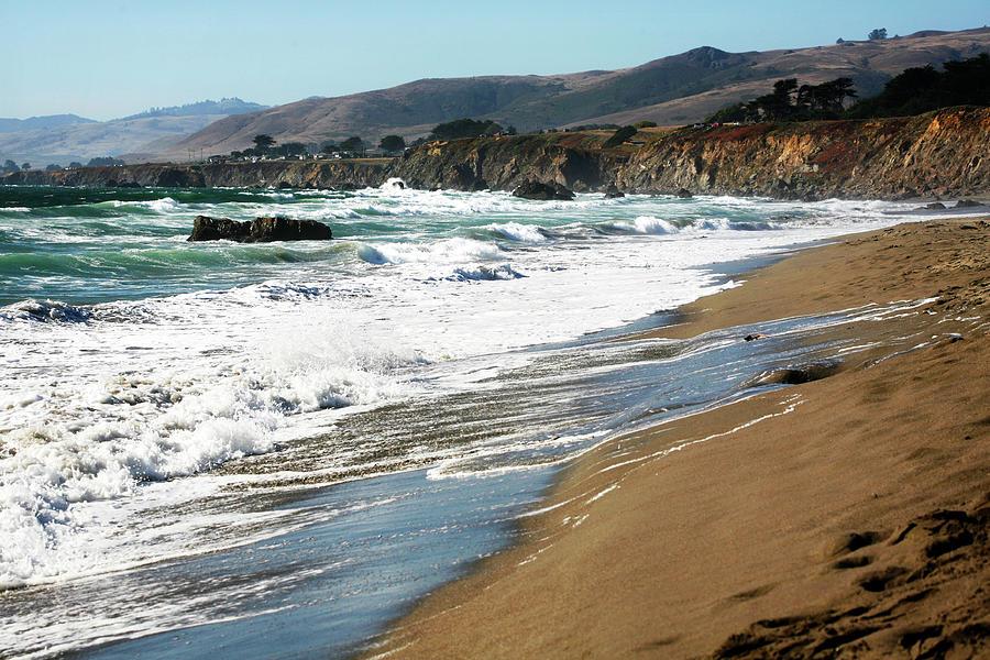 California Coastal Scene Photograph