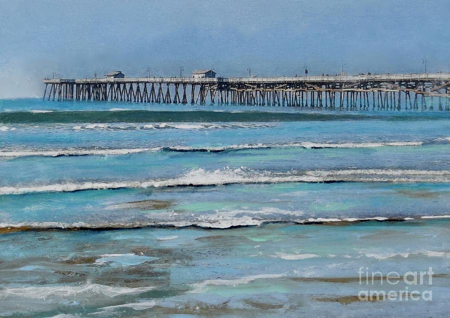 Calm Beach by Mary Scott