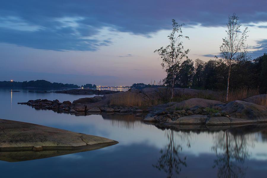 Scenic Landscape Photograph - Calm waters by Marko Hannula