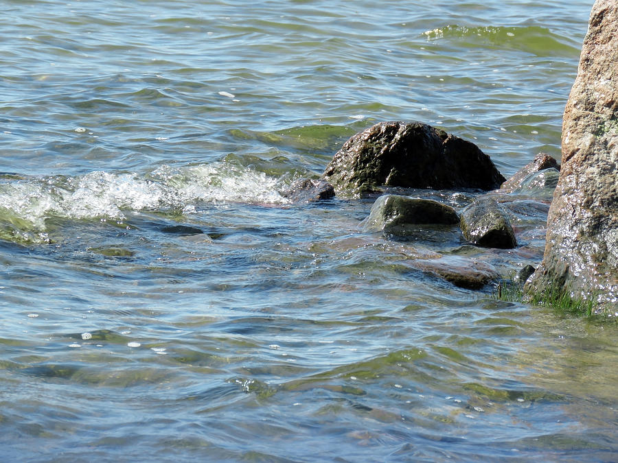 Calming Waves Photograph