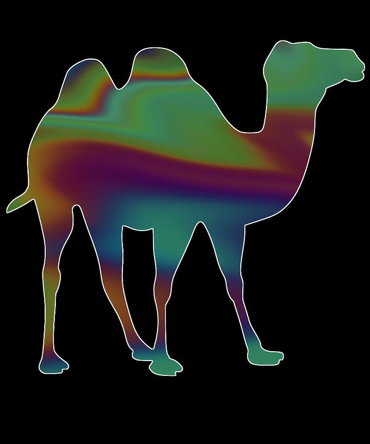 Llama Digital Art - Camel 373 by Kaylin Watchorn