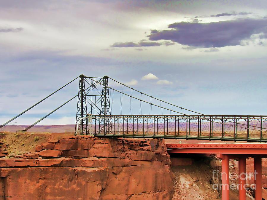 Cameron Bridge Arizona by Roberta Byram