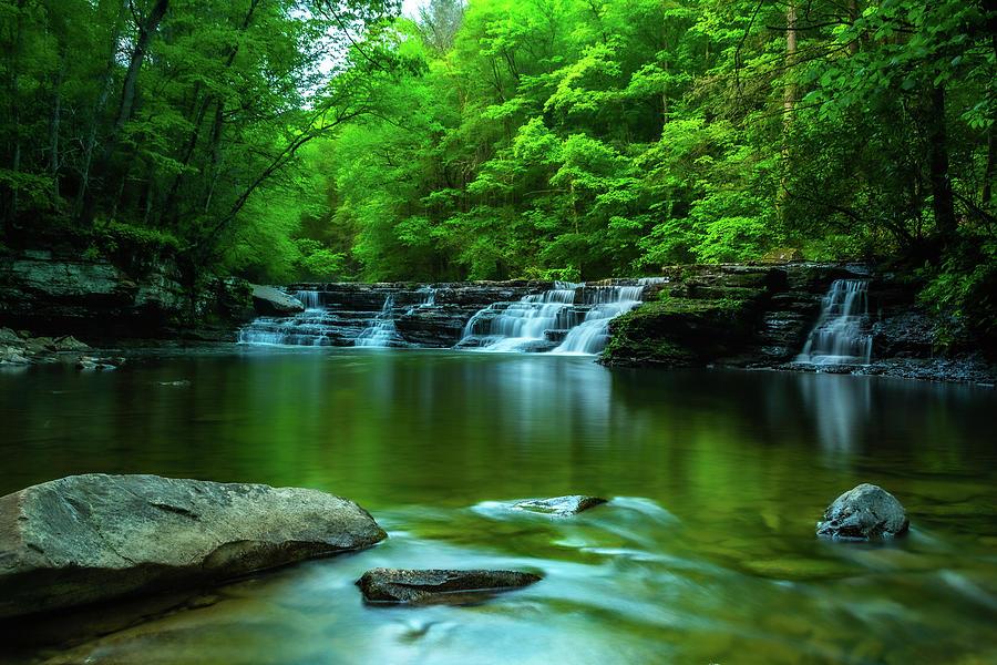 Camp Creek Waterfall Photograph
