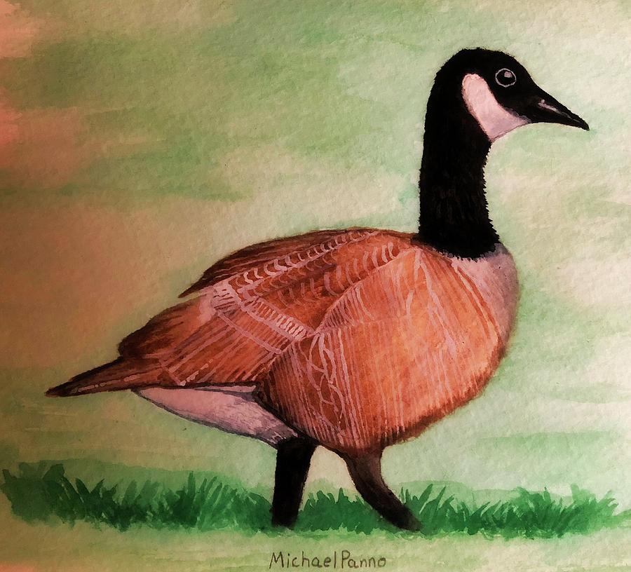 Canada Goose Painting