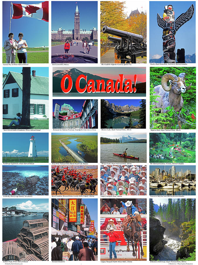 Canada Travel Poster Photograph