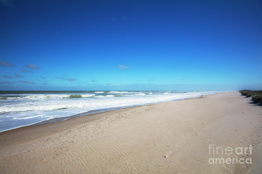 Canaveral National Seashore Photograph - Canaveral National Seashore, Florida by Felix Lai