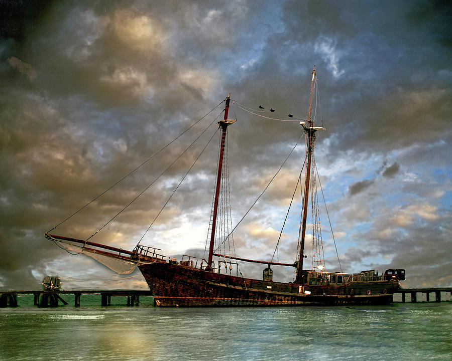 Cancun Pirate Ship by William Havle