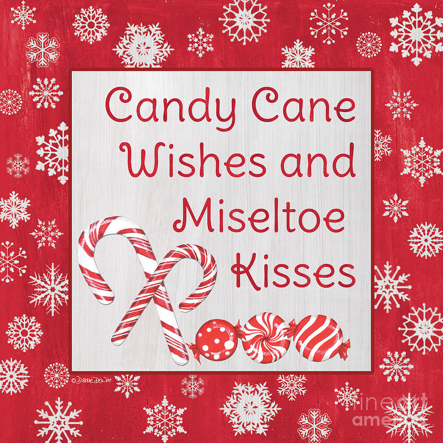 Candy Cane Lane Sweets 2 Painting