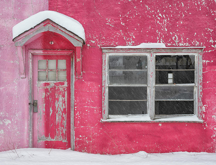 Candy Cane Motel Photograph