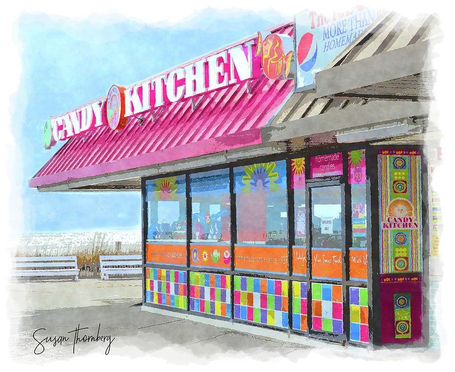Rehoboth Beach Candy Kitchen Photograph By Susan Thornberg