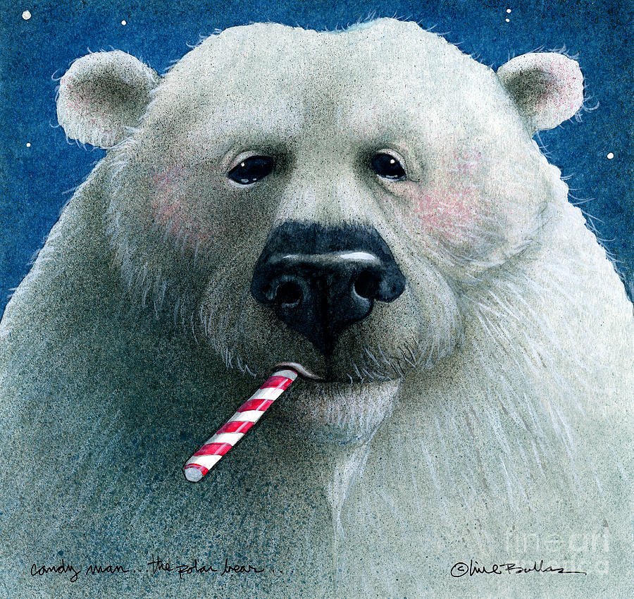 candy man... the polar bear... by Will Bullas