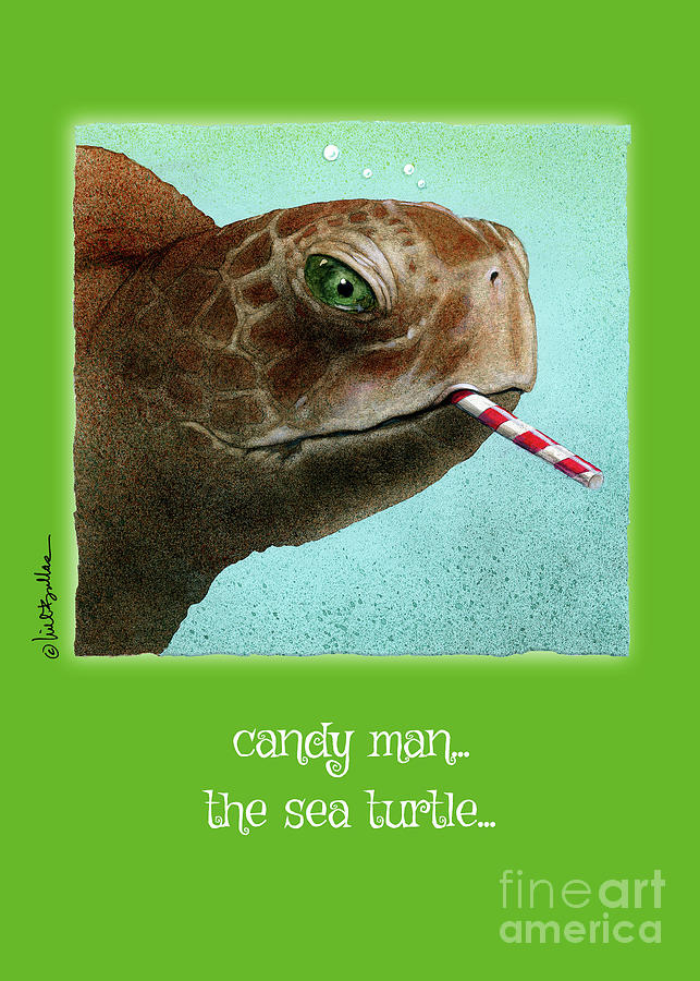candy man... the sea turtle by Will Bullas