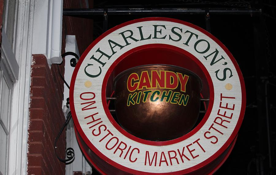 Candy Shop Sign by Cynthia Guinn