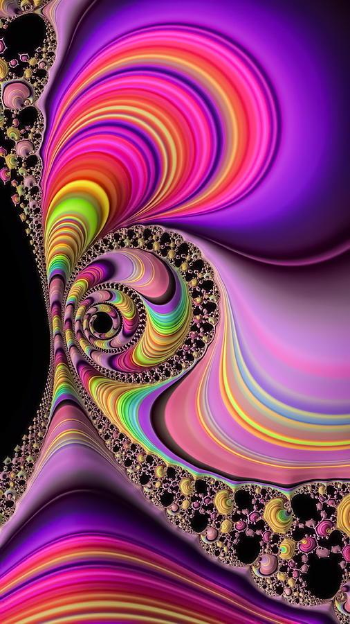 Candy Spiral-2 Digital Art