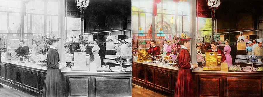 Candy - Store - The future of chocolate 1895 - Side by Side by Mike Savad