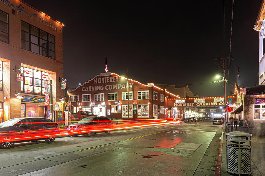 Cannery Row Lights by Geoffrey C Lewis