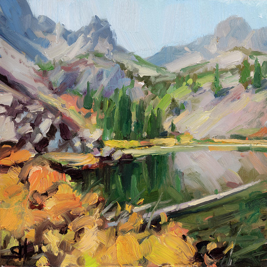 Cannon Lake Painting