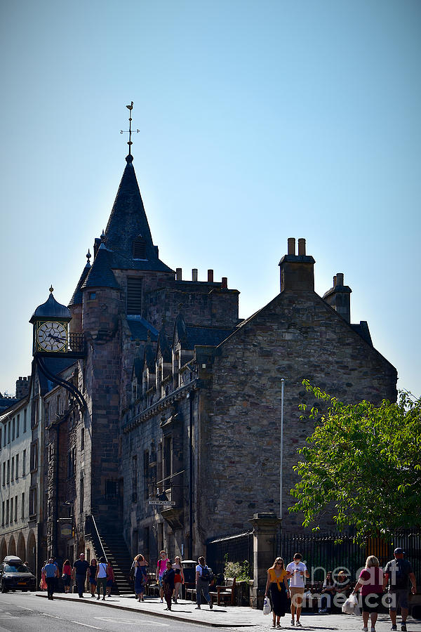 Canongate Tolbooth, Edinburgh Old Town by Yvonne Johnstone